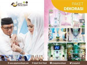 Aqiqah Jakarta Utara Nurul Hayat Paket Dekorasi